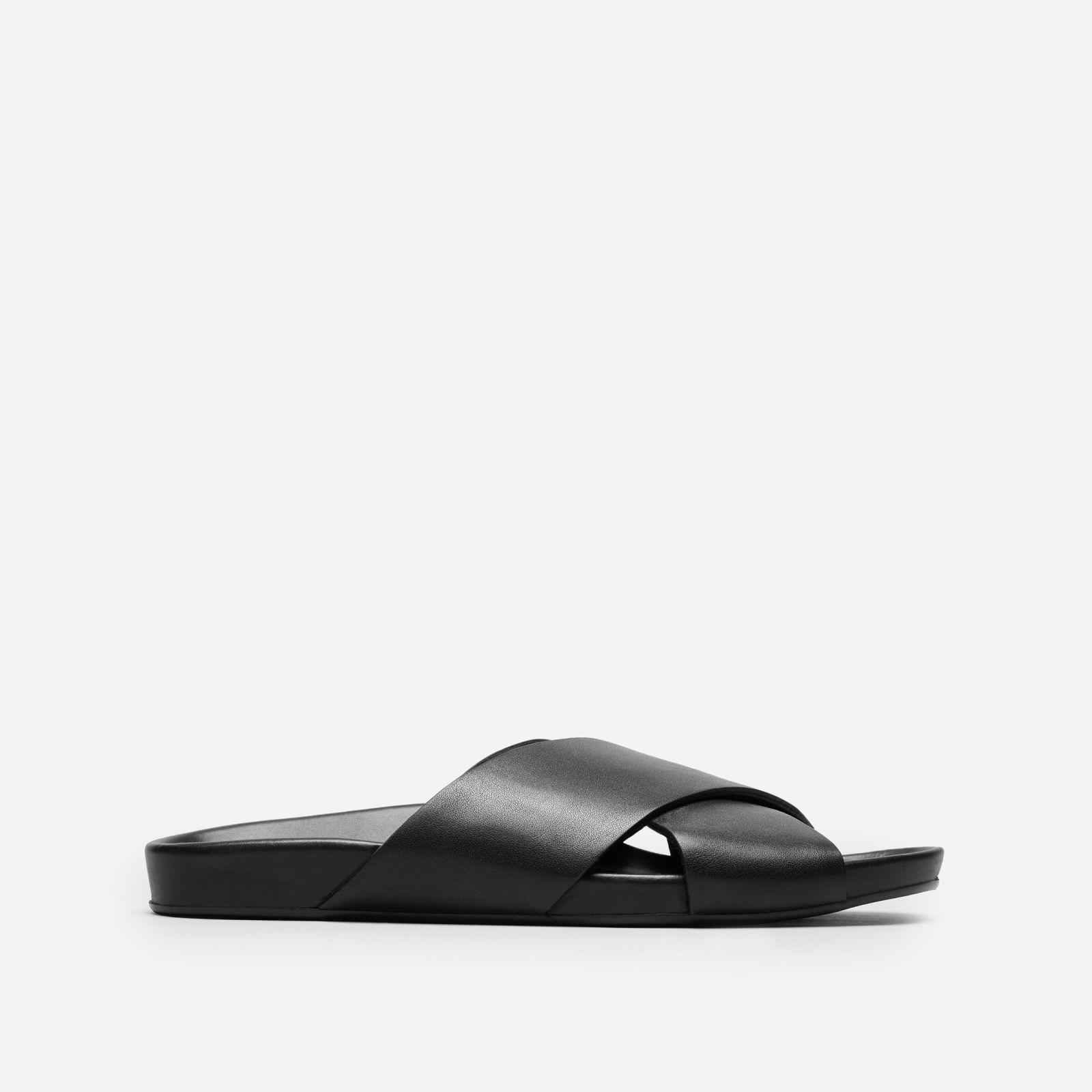 Women's Leather Crossover Sandal
