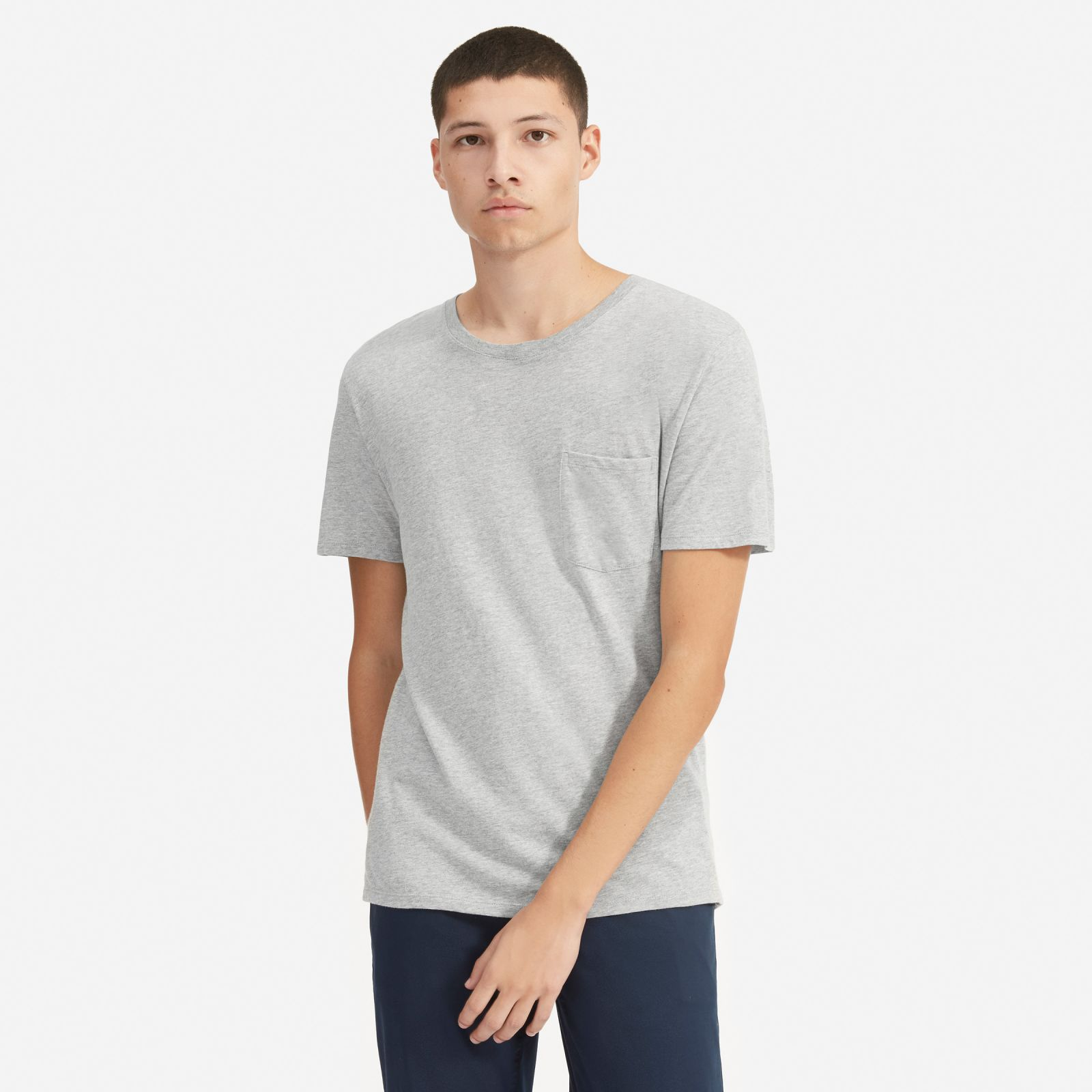 Men's Cotton Pocket T-Shirt | Uniform