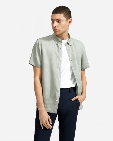 b61412b10 Men's Button Down Shirts: Slim Fit, Modern, Denim and More | Everlane