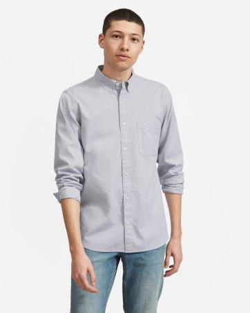 fbdb51ac Men's Button Down Shirts: Slim Fit, Modern, Denim and More | Everlane