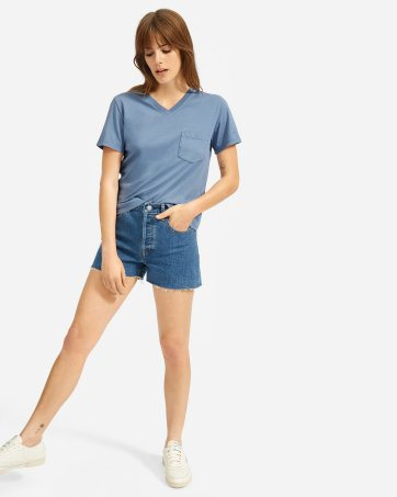 208f78d5d675 ... The Cotton Box-Cut V-Neck Tee - Everlane ...