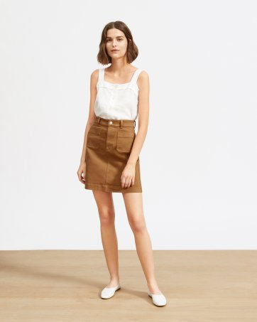 72a8396bef7 The Patch Pocket Skirt - Everlane The Patch Pocket Skirt - Everlane ...