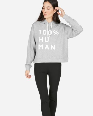 808ff543cc5 ... The 100% Human French Terry Hoodie in Large Print - Everlane ...