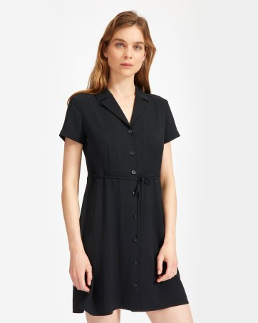 e8741266f083 The Japanese GoWeave Notch Shirtdress - Everlane The Japanese GoWeave Notch  Shirtdress - Everlane ...