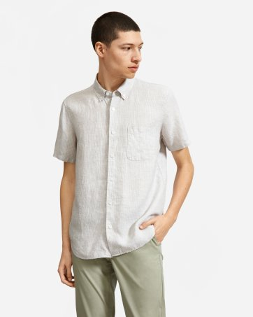 71577fe95ab1 Men's Button Down Shirts: Slim Fit, Modern, Denim and More | Everlane