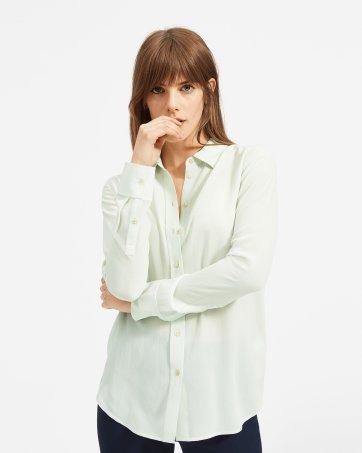 35b767456eae ... The Clean Silk Relaxed Shirt - Everlane ...