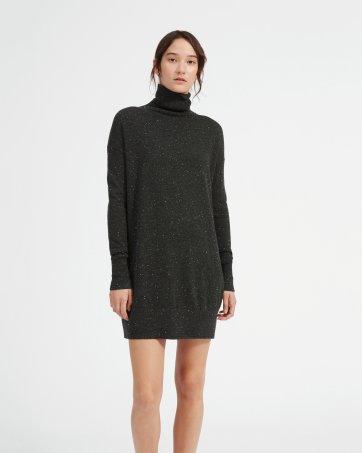 1bad29ddd0 The Cashmere Turtleneck Dress