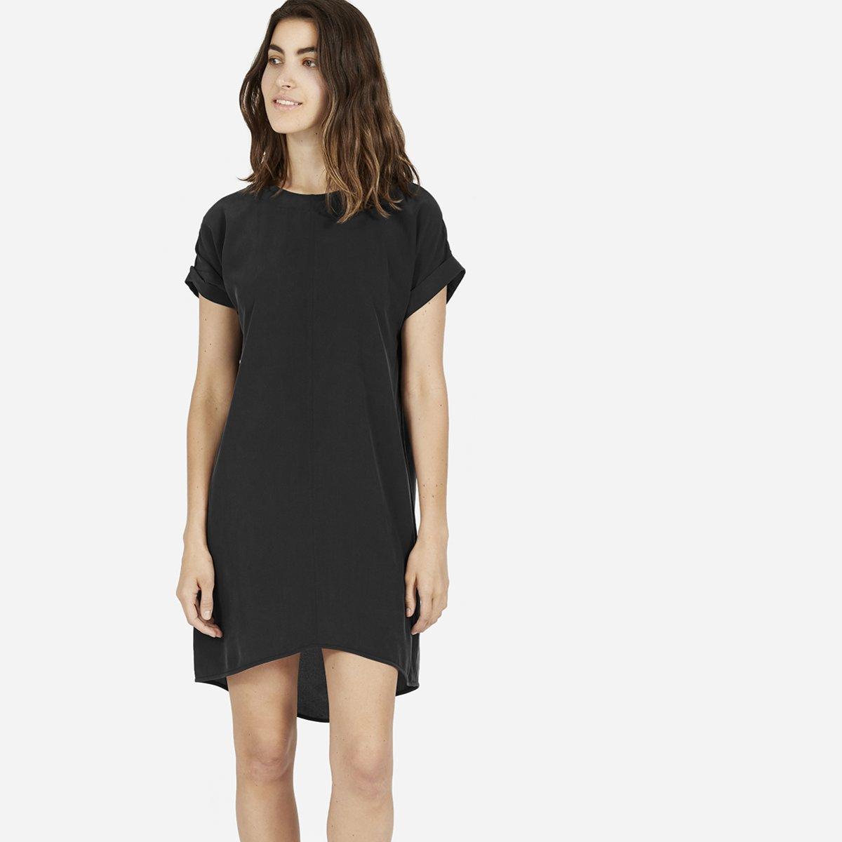 Women\'s Silk Short-Sleeve Dress | Everlane