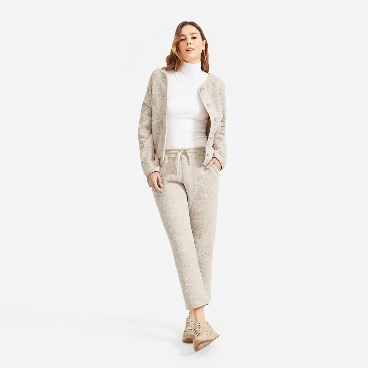 the-renew-fleece-sweatpant by everlane