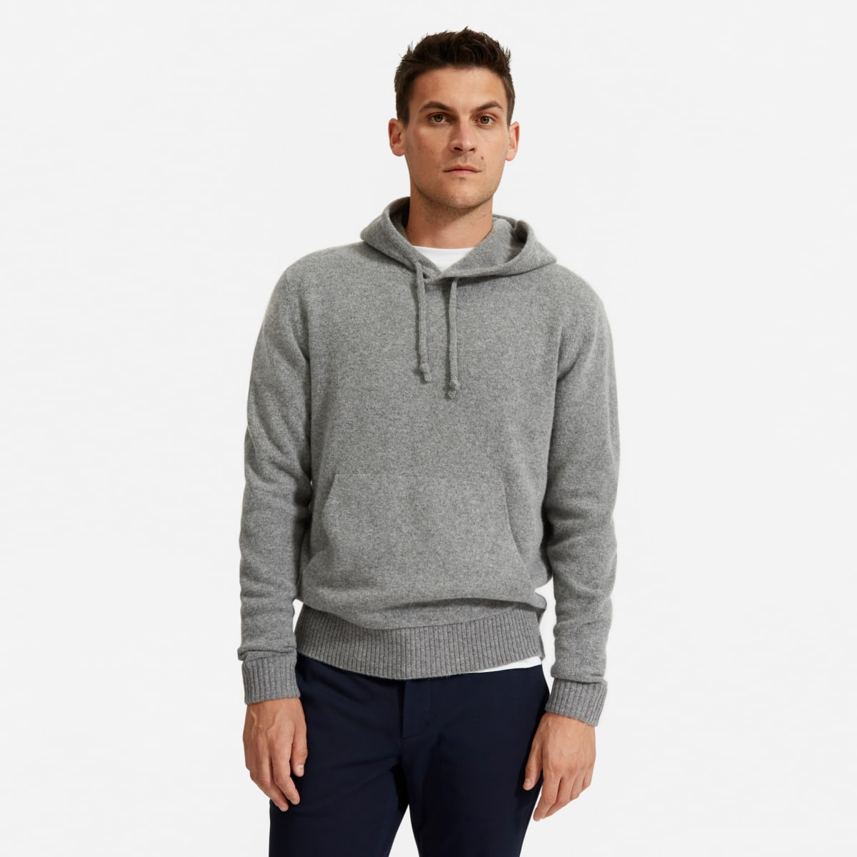 The Felted Merino Hoodie by Everlane
