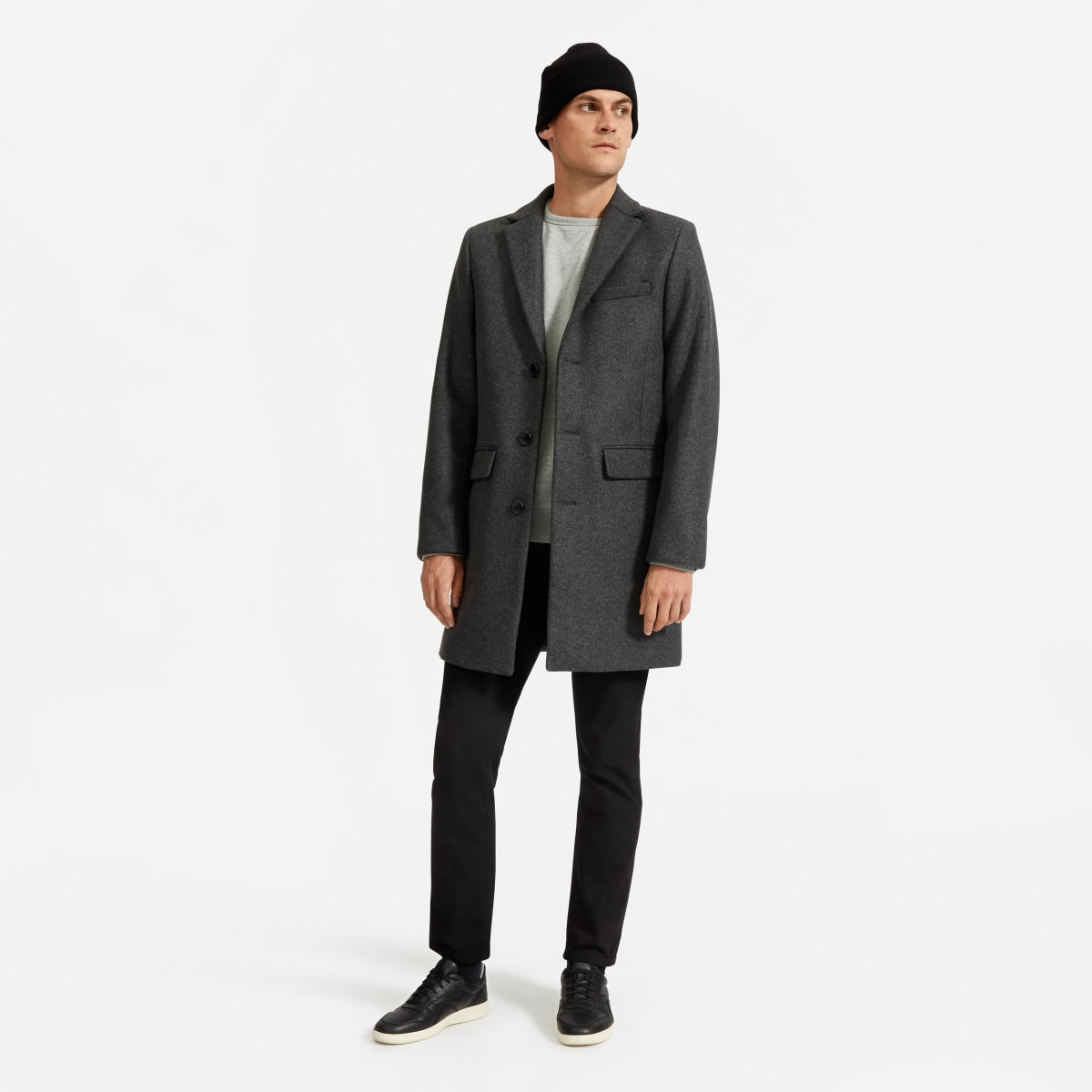 The Re Wool Overcoat by Everlane