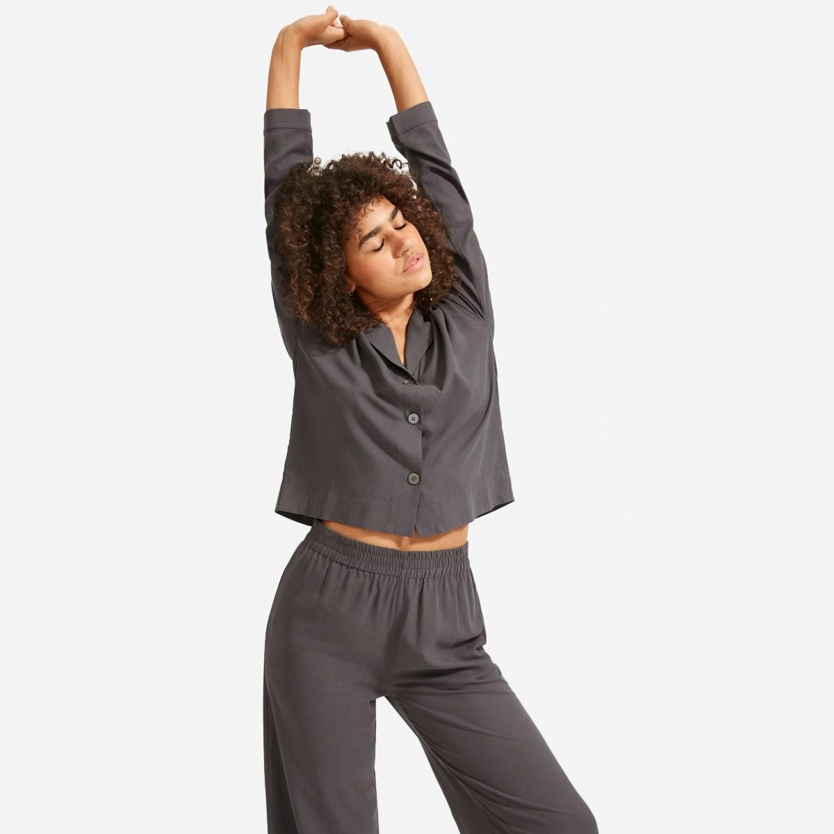 The Washable Silk Pajama Set by Everlane