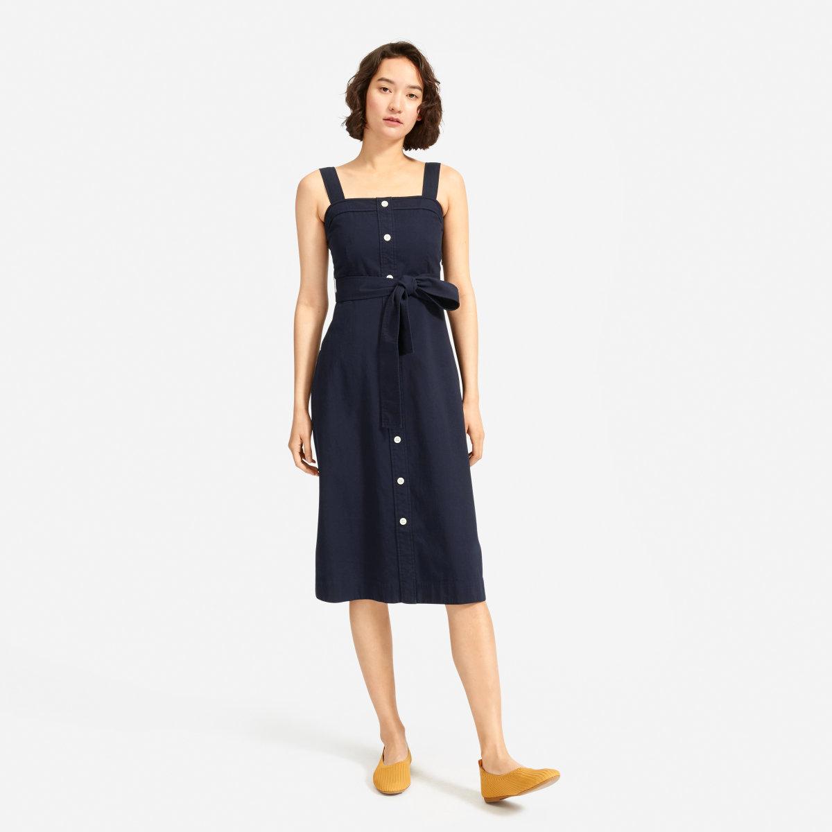 406b759e70 Women's Cotton Weave Picnic Dress | Everlane