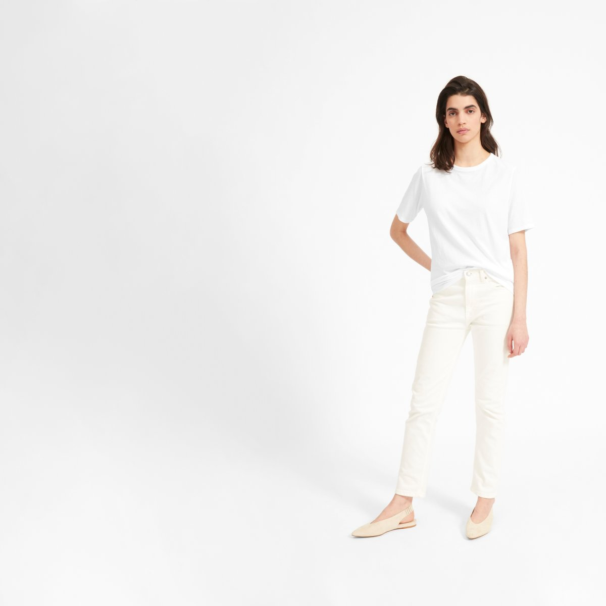 6f4fe8255 Women's Air Oversized Crew Tee | Everlane