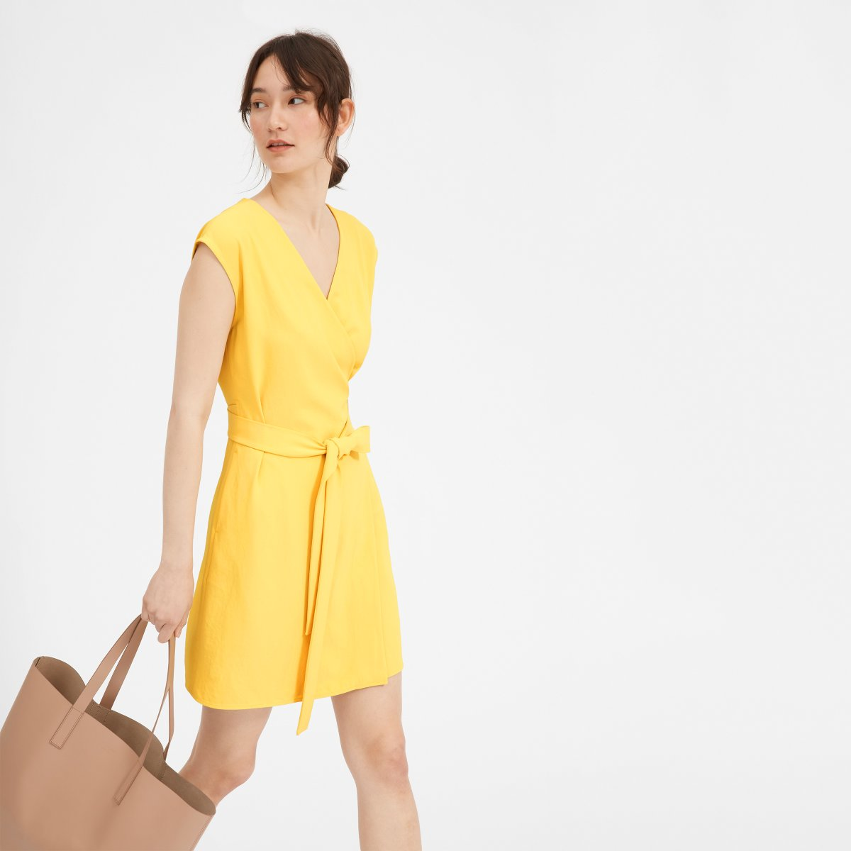84db25b341c ... Japanese GoWeave Short-. Your browser does not support HTML5 video.  Here is the link to the video w wrap dress short yellow mona.