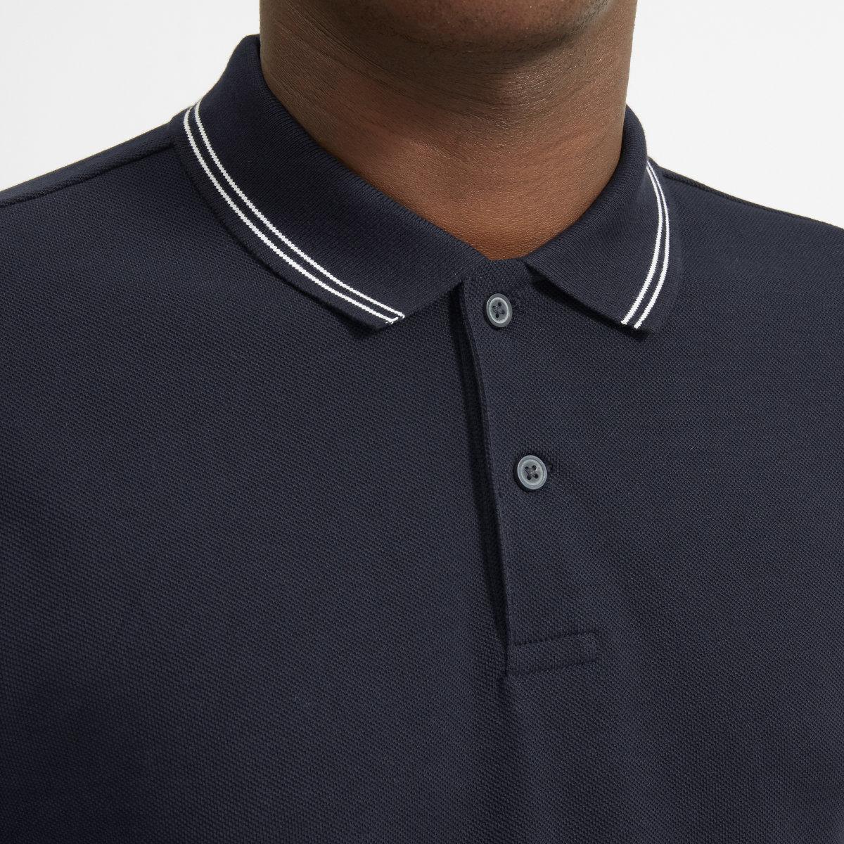 Mens Pique Polo Shirt Everlane