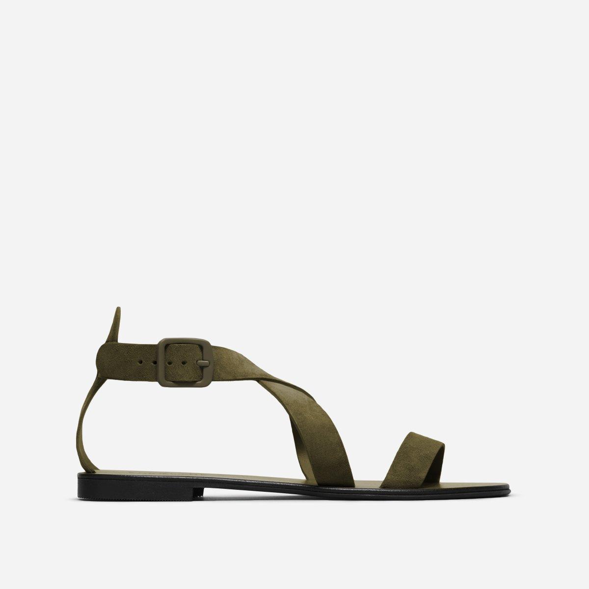 The Modern Wrap Sandal