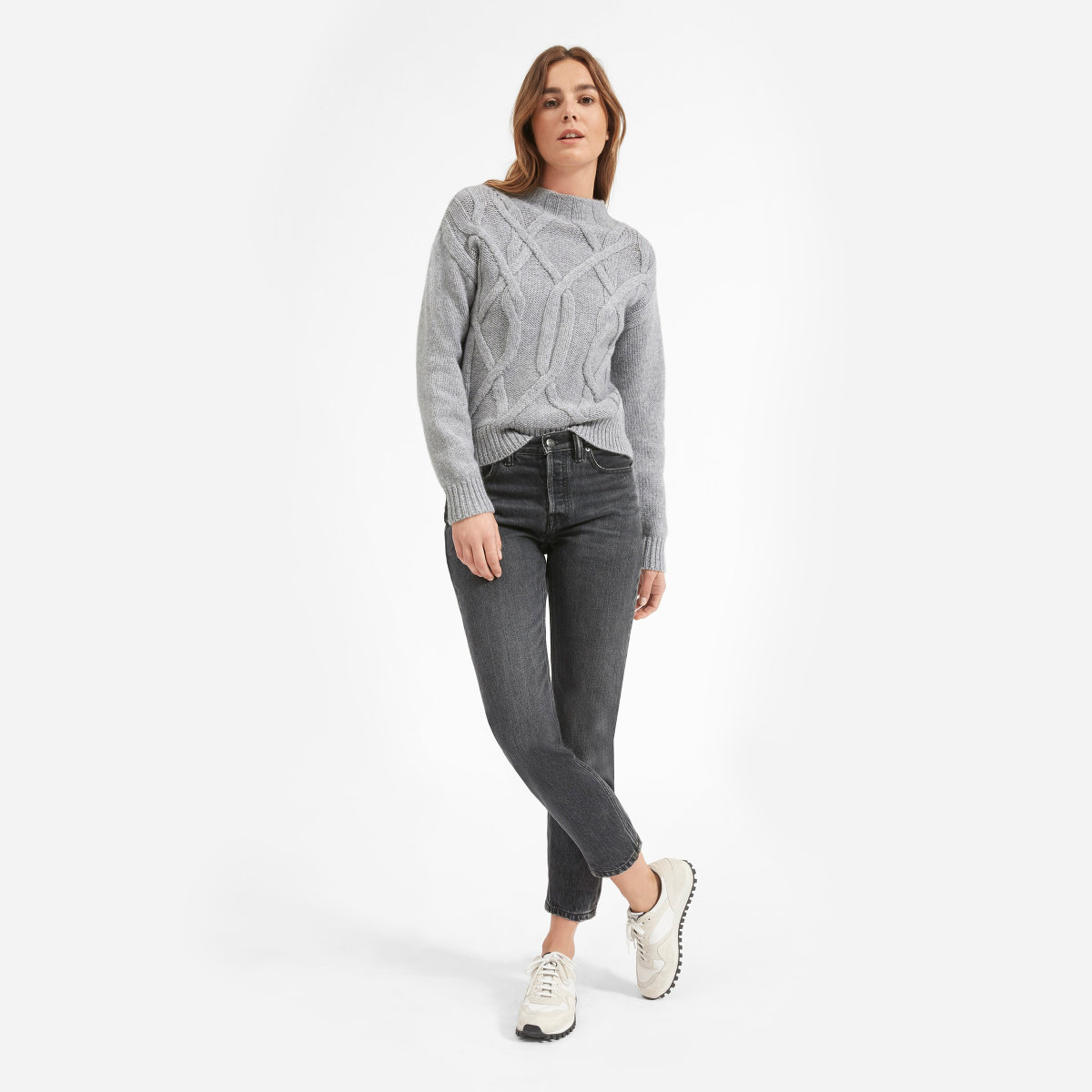 The Cable Mockneck