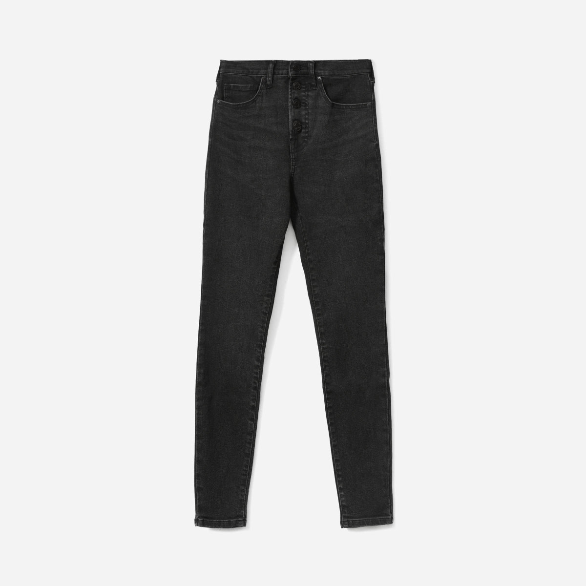 0d00a1e83 Here is the link to the video W The Authentic Stretch High-Rise Skinny Jean  (Ankle) - Washed Black Button Fly, Ruby.