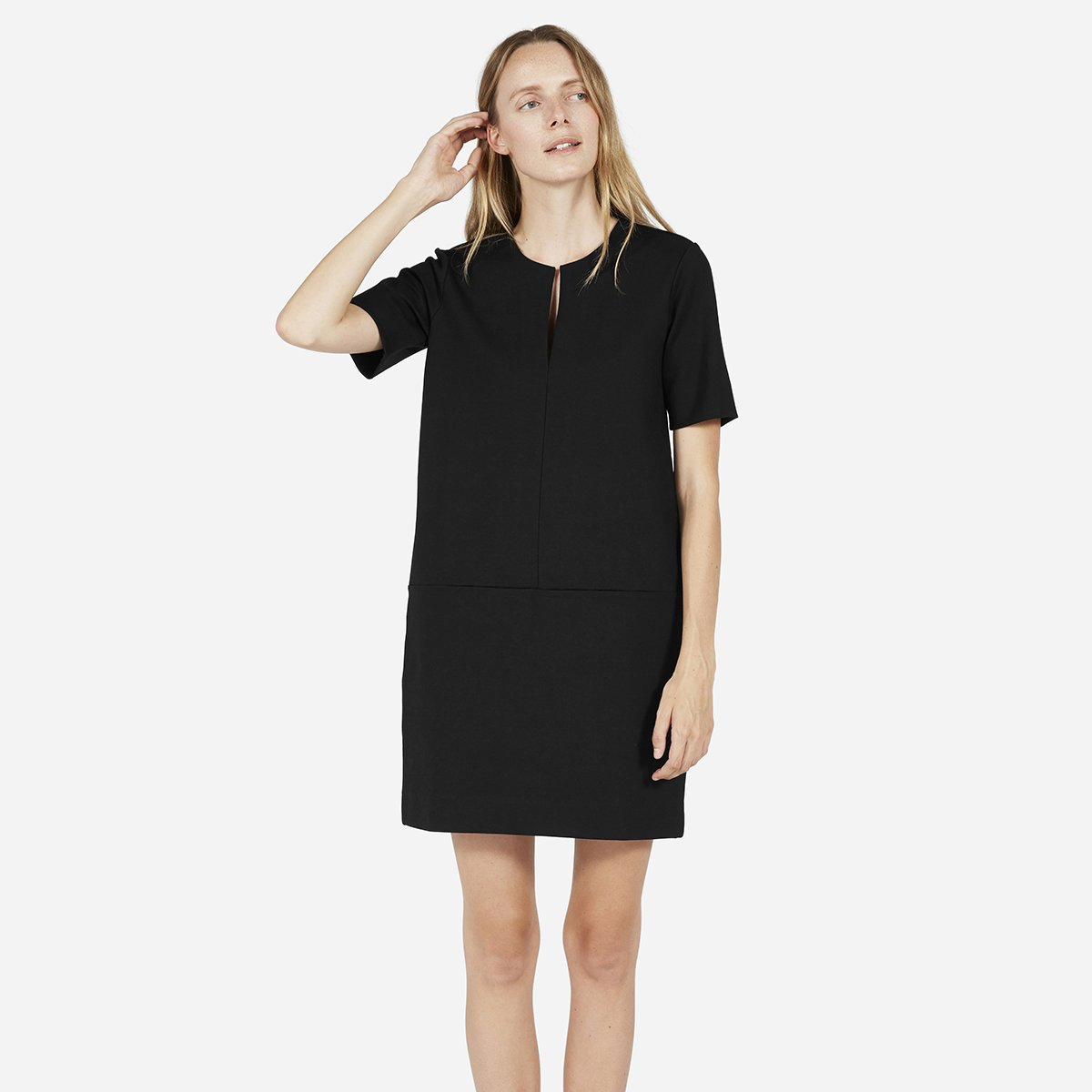 683fa2f56763a The Ponte Short-Sleeve Dress