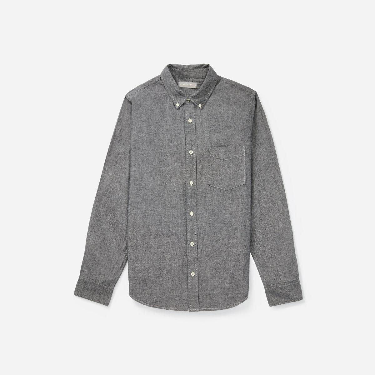 Everlane chambray shirt