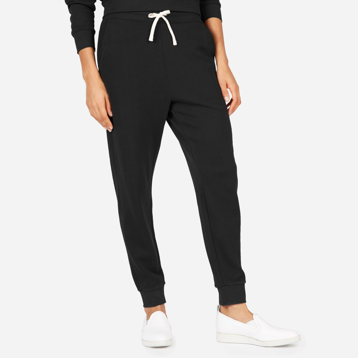 174761ac6ab41 Your browser does not support HTML5 video. Here is the link to the video w french  terry sweatpant washed black.