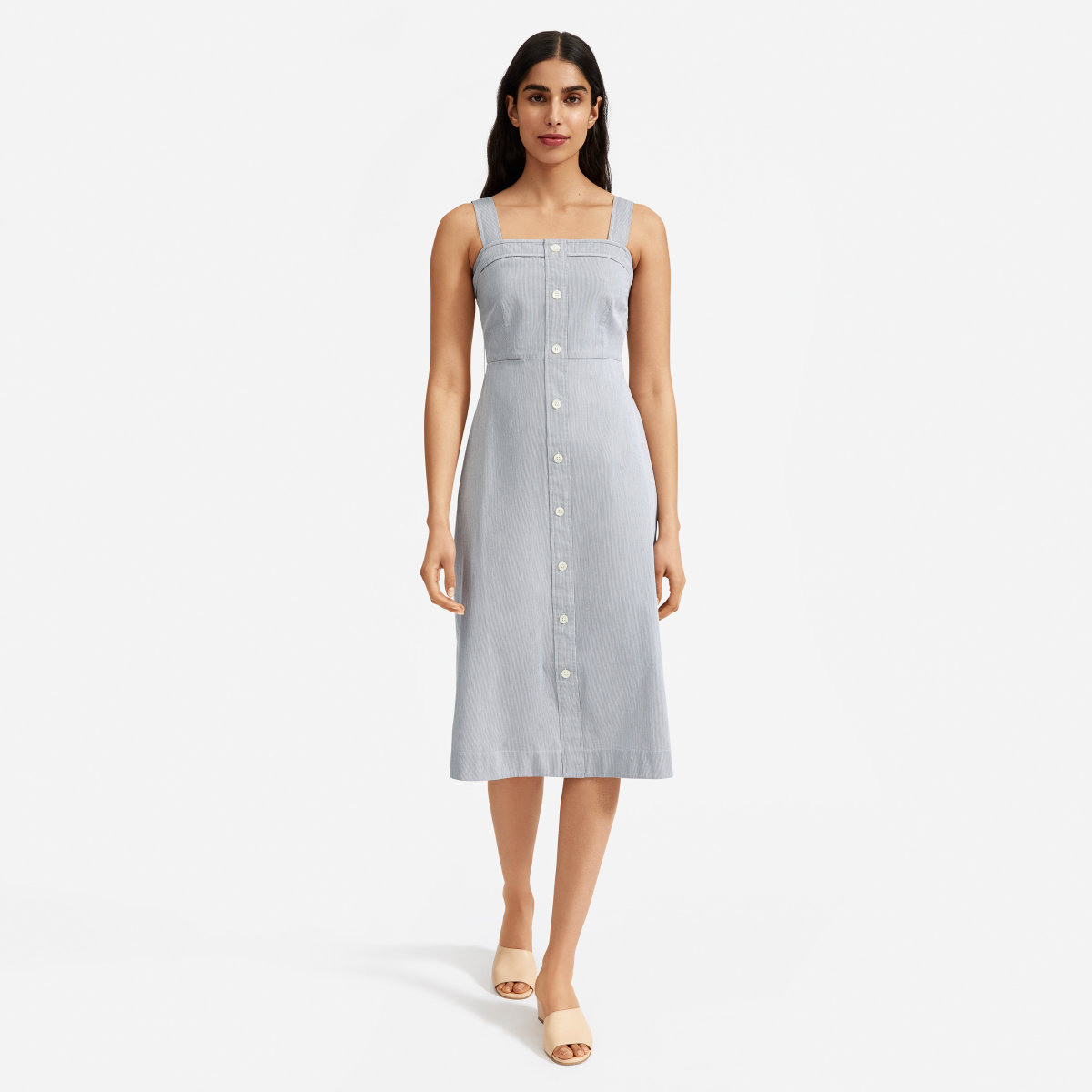 7cec5fa445b91 The Cotton Weave Picnic Dress