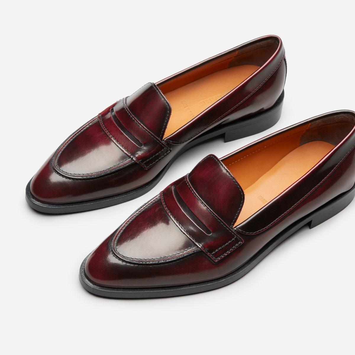women s modern penny loafer everlane