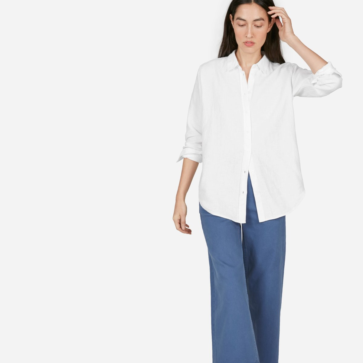 The Linen Relaxed Shirt –  58 89feabb02fb8d