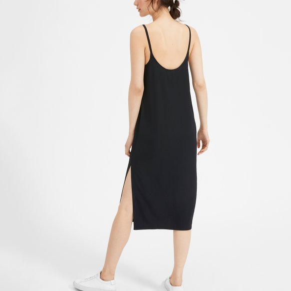 Womens Japanese Goweave Long Slip Dress Everlane
