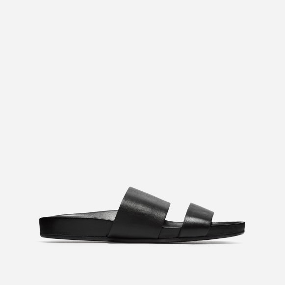 27f0f6346 The Form Two-Strap Sandal in Black