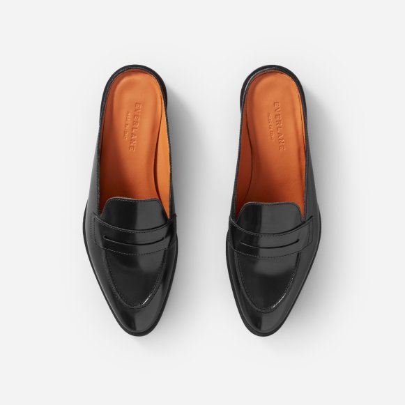 1f76bf5210c The Modern Penny Loafer Mule in Black
