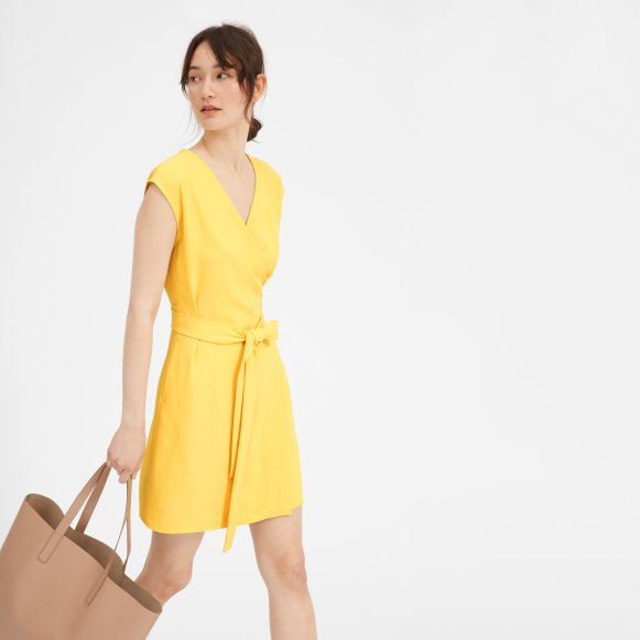 Wrap Dress with Sleeves