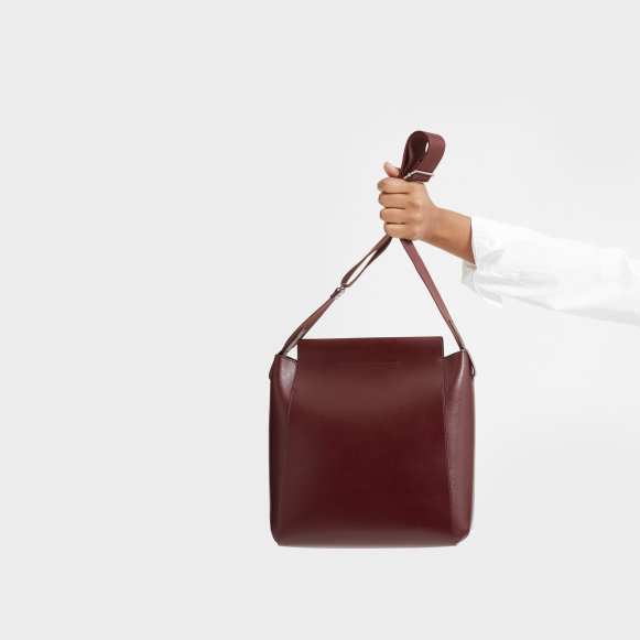 fb56611e7dd3 The Form Bag in Burgundy