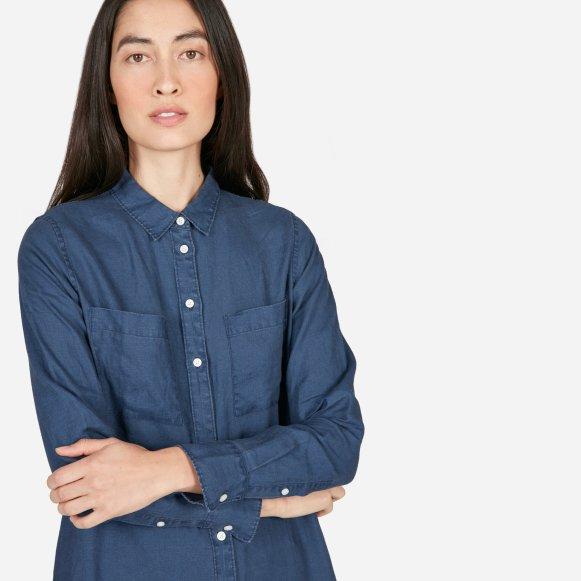 2f388399771b4 The Linen Shirt Dress