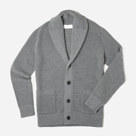 Mens Chunky Knit Cardigan Everlane