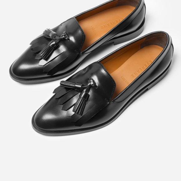b63d7944efd The Modern Tassel Loafer in Black