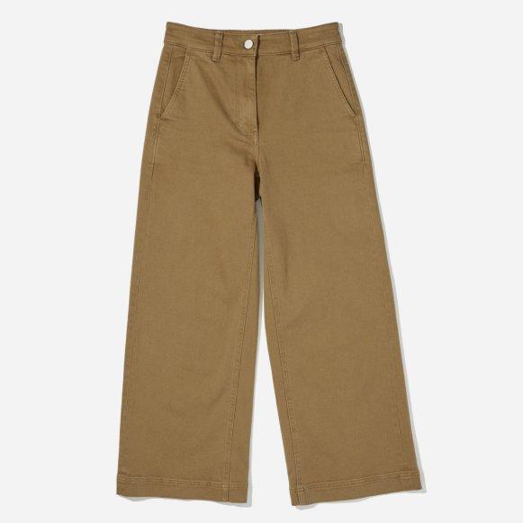 women s wide leg crop pant everlane