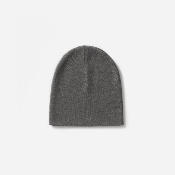 The Merino Wool Beanie in Charcoal dd0d54acb442