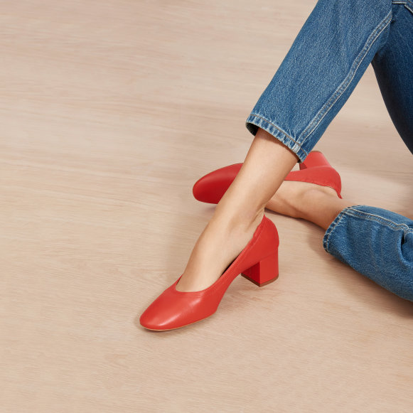 f4f2c359d8c The Day Heel in Bright Red