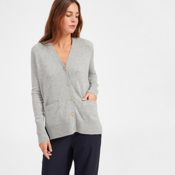 fdc0c91166a The Cashmere Boyfriend Cardigan