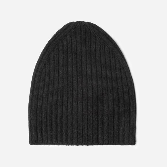 The Wool-Cashmere Beanie in Black 9a9e0501f00