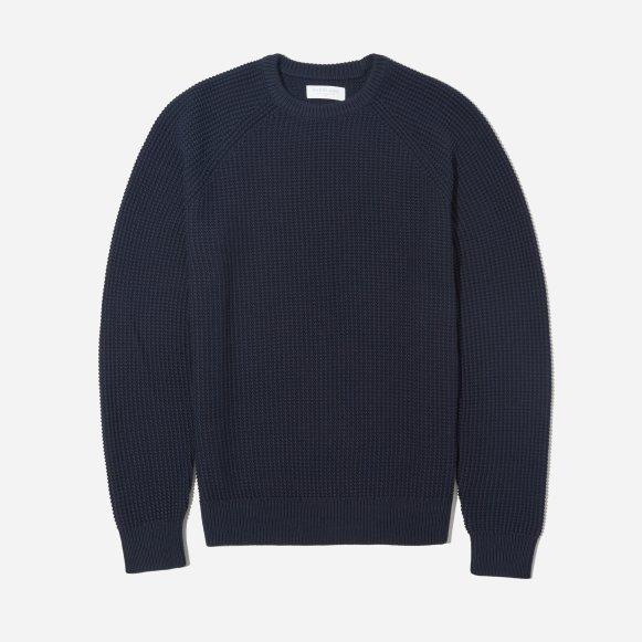 7a8ddc36eb2d Men s Texture Cotton Crew Sweater