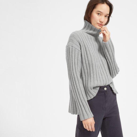 94017dbeac932c Women's Wool-Cashmere Rib Oversized Turtleneck | Everlane