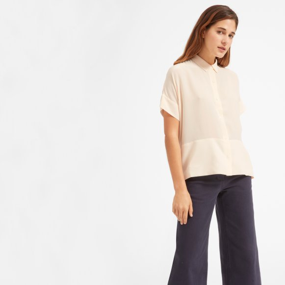 8369815121e636 The Silk Short-Sleeve Square Shirt —  88