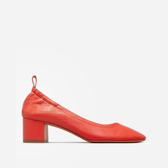 318200a7dec The Day Heel in Bright Red