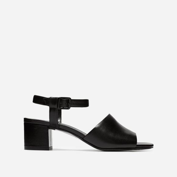 c50bc8785f9 The Block Heel Sandal in Black