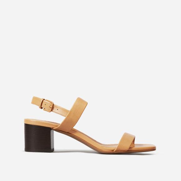 e6ce7c3861 Women's Double-Strap Block Heel Sandal   Everlane