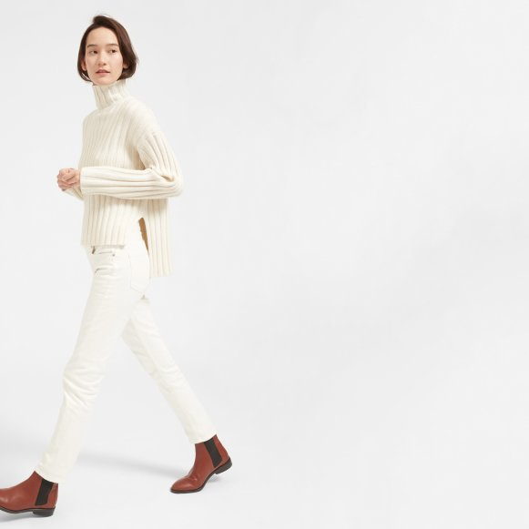 09b44065c15 Women's Wool-Cashmere Rib Oversized Turtleneck | Everlane