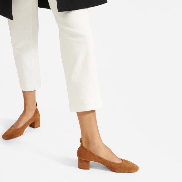 5048c61a9fa The Day Heel in Cognac Suede